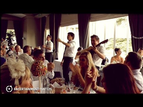 Wait and Sing Waiters - Live Wedding