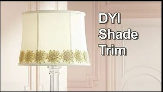 Trim for Lamp Shades