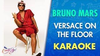 Bruno Mars   Versace On The Floor (Karaoke)   CantoYo