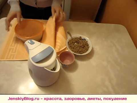 Гречневая диета - как приготовить кашу