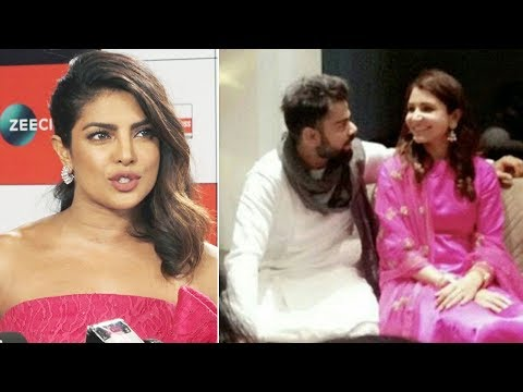 Download Priyanka Chopra REACTS on Virat Kohli Anushka Sharma Wedding HD Mp4 3GP Video and MP3