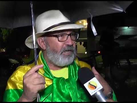 Manifestação em Araxá a favor da prisão do Ex-presidente Lula.
