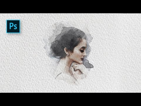 How to Create a Watercolor Painting Effect with Photoshop – Photoshop Tutorial