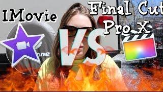Final Cut Pro X Vs. IMovie Review!