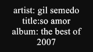 Gil Semedo So Amor
