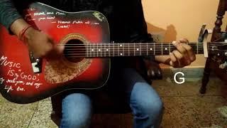 """Yaar ni miliya"" Song of Hardy Sandhu Easy Guitar Lesson/Tutorials/Guitar cover/Chords"
