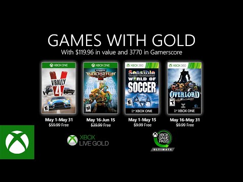 Xbox Games with Gold Mai 2020