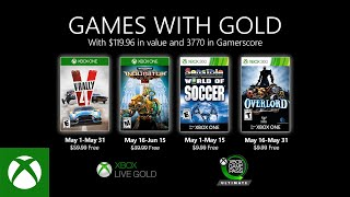 Games With Gold di maggio