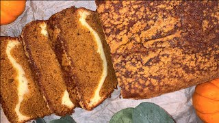 Pumpkin Bread with Cream Cheese Filling How to make Pumpkin Bread Recipe