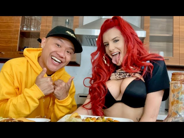 Which Wild N Out guy did Justina Valentine Smash? Druk Bang with Jamaican Food & Henny