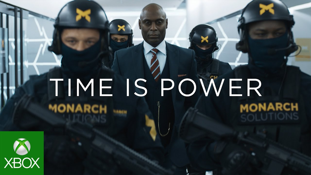 Quantum Break Live Action Villians Trailer