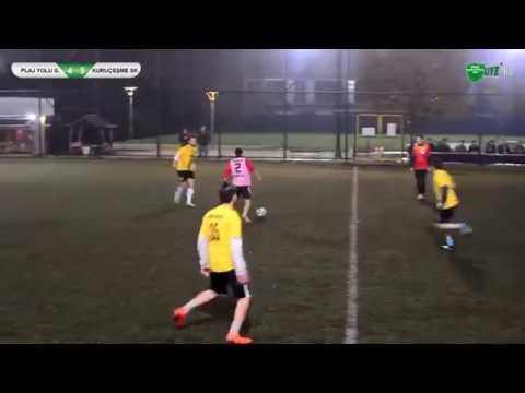 Halı sahada Sneijder'i hatırlatan goller attı!