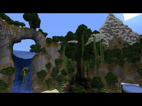 Abandoned Kingdom Custom Map With Villages ruins ores Custom