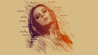Портрет из слов в Фотошопе. Делаем необычную стилизацию портрета