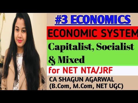 Economic Systems ll Capitalist, Socialist & Mixed Economy ll CA Shagun Agarwal