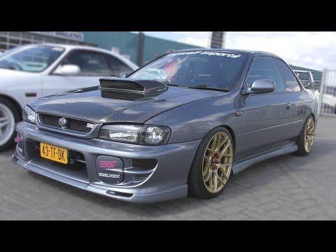 Subaru Impreza GC8 Coupe V5 Type R- Amazing Sounds!