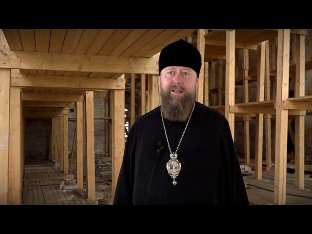 Начались реставрационные работы по восстановлению Николаевского Антониева монастыря