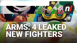 Four New ARMS Fighters Leaked by Nintendo | ARMS for Nintendo Switch