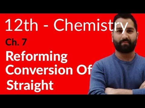 Fsc Chemistry book 2, Ch 7 - Explain Reforming - 12th Class Chemistry