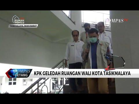 KPK Geledah Ruangan Wali Kota Tasikmalaya