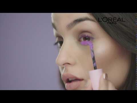 Nueva Máscara de Pestañas Lila Miss Baby Roll de L'Oréal Paris.