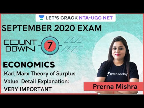, title : 'Karl Marx Theory of Surplus Value  Detail Explanation-VERY IMPORTANT | NTA UGC NET by Prerna Mishra
