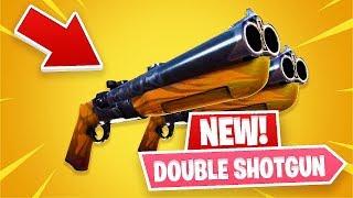 New Double Barrel Shotgun! *Pro Fortnite Player* (Fortnite New Update)