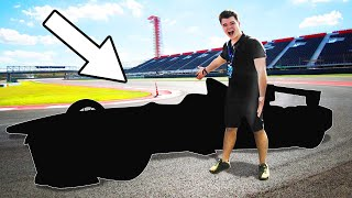 DRIVING WORLDS FASTEST RACE CAR!