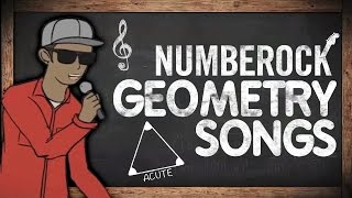 Geometry: Lines & Angles Songs For Kids | 3rd Grade - 5th Grade
