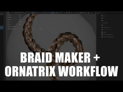 Ornatrix Maya V2 Beta: Resolve Collisions operator