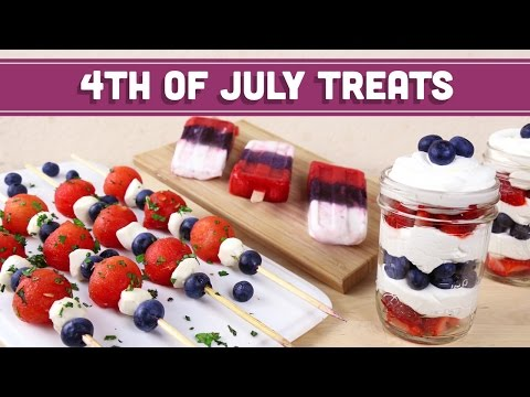 Video 4th of July Treats (Healthy, Vegetarian) - Mind Over Munch