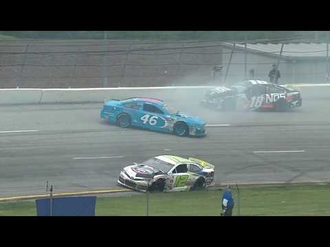 ARCA Racing Series 2018. Toledo Speedway. Crash #3