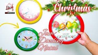 Souvenir jam dinding Cetak custom natal
