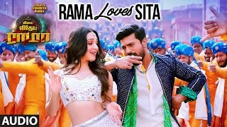 gratis download video - Rama Loves Sita Full Audio Song | Vinaya Vidheya Rama Tamil | Ram Charan,Kiara Advani