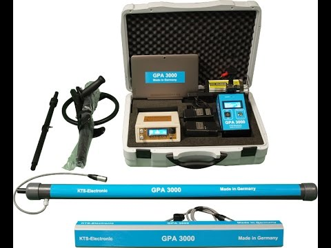GPA 3000 3D Gold Detector Made in Germany   Assembly & User Manual