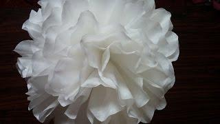 Coffee Filter Flower . Home Decor. Wedding Decor. Room Decoration