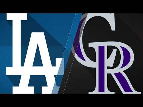 Dodgers best Rockies to earn 103rd victory: 9/30/17