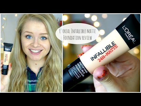 Review - L'Oreal Infallible 24hr Matte Foundation | sophdoesnails