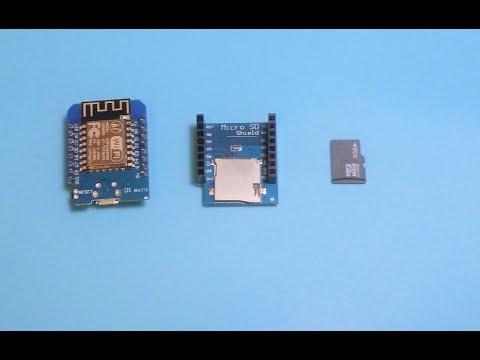 ESP8266 Wifi Disk Drive/ NAS