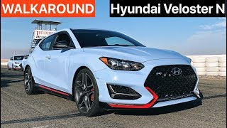 Hyundai Veloster N (Performance Pack) WALKAROUND