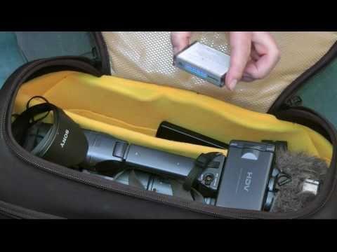 Video-Equipment für grössere Camcorder