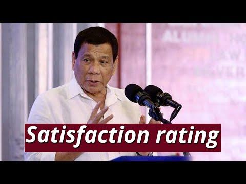 [GMA]  SONA: SWS: Satisfaction rating ni Pres. Duterte, bahagyang bumaba nitong 3rd quarter ng 2019