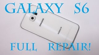 Samsung Galaxy S6 Screen Repair, Battery Replacement, Charging Port Fix Complete! GS6