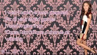 Zendaya - Cry For Love [Lyrics]