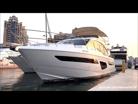 Princess F55 Flybridge Yacht 2019   India Exclusive   Real-life review