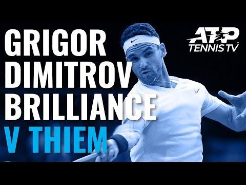 Grigor Dimitrov Brilliance in Win vs Thiem   Paris 2019