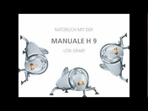 Graef Manuale H 9