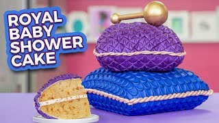 Royal Baby Shower Cake for Meghan Markle! | How To Cake It