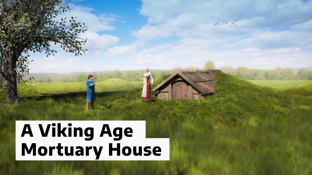 В Норвегии найдены останки загадочного дома, где хоронили викингов