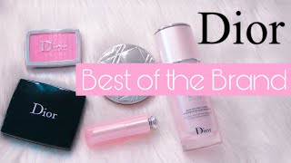 TOP 1O DIOR BEAUTY ESSENTIALS AND MAKEUP MUST HAVES